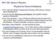 Lecture notes - X-ray Optics and Microscopy at Northwestern ...