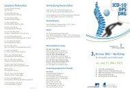 Download Programm - Klinik für Orthopädie und Unfallchirurgie der ...