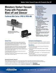 VP0X - Vaccon Vacuum Products