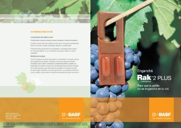 Folleto RAK 2 Plus - Basf