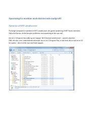 Opsætning fra maskine med eksisterende mailprofil - For brugere