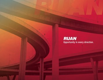 Corporate Recruiting Brochure - Ruan