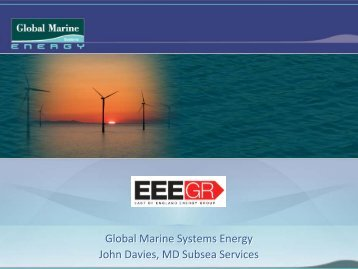 Global Marine Systems Energy - EEEGR
