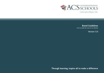 Brand Guidelines - ACS International Schools