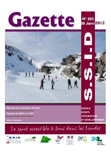 Gazette n°203 - drjscs