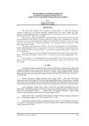 Inventarisasi Batubara Marginal di Daerah Muser dan Sekitarnya