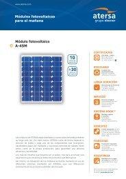 Módulo fotovoltaico A-45M - ROLEAR MAIS