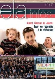 ELA Infos n°65 – mars 2009