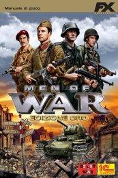 Men of War Edizione Oro - Manuale digitale - FX Interactive