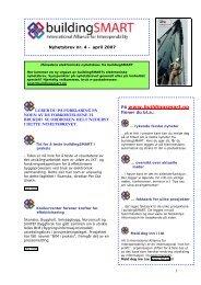 Nyhetsbrevet for april 2007 - buildingSMART