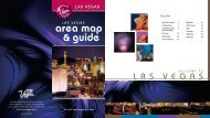 Las Vegas Area Map