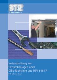Instandhaltung von Feststellanlagen nach DIBt ... - BTR Hamburg