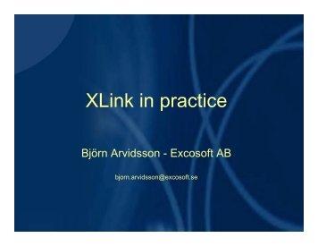 XLink in practice - XML Finland