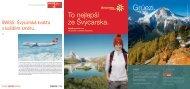 Brožura ke stažení ve formátu PDF (10 MB) - Moje Švýcarsko.com