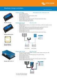 BlueSolar charge controllers - Solarni paneli
