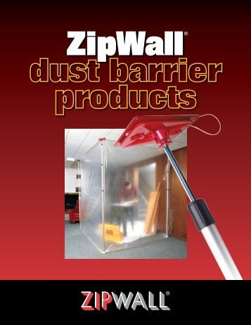 zipwall dust barrier products - National Ladder and Scaffold Co.