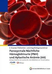 2. Essener Patienten- und Angehörigenseminar 2010 - PNH-Forum
