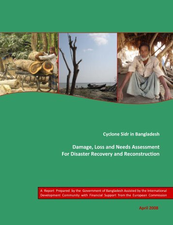 Cyclone Sidr in Bangladesh Damage, Loss, and Needs ... - GFDRR
