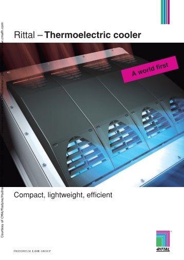 Rittal –Thermoelectric cooler - CMA/Flodyne/Hydradyne