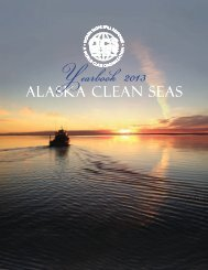 2013 Yearbook - Alaska Clean Seas
