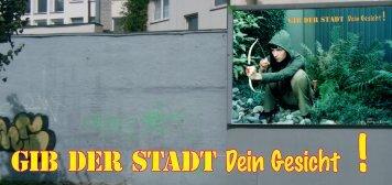 Flyer - Projektinfo GdSdG - Jugend Architektur Stadt e.V.