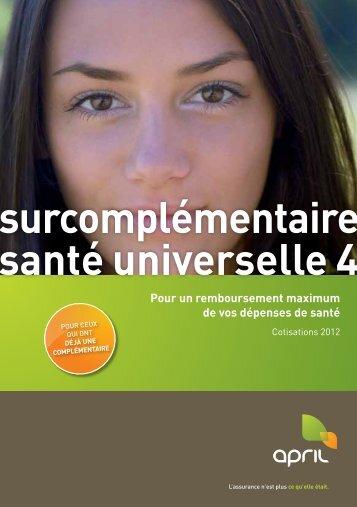 santé universelle 4 surcomplémentaire - April