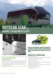 AUTOCAR STAR... - Verdié Voyages