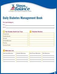 Daily Diabetes Management Book - Januvia