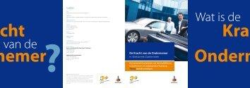 Het verkorte rapport 2008 - De Kracht van de Ondernemer