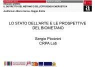 LO STATO DELL'ARTE E LE PROSPETTIVE DEL BIOMETANO ...