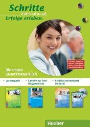 Schritte international, Zusatzmaterialien