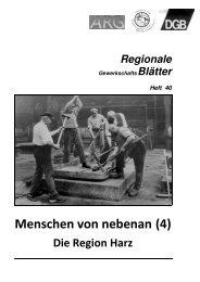 Heft 40 - DGB Niedersachsen - Bremen