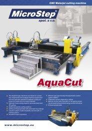 www.microstep.eu CNC Waterjet cutting machine - MicroStep Europa
