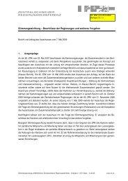 Bericht und Antrag des Ausschusses vom 7. Mai 2009 - ZRK