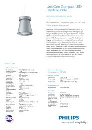 Unicone Compact LED Pendelleuchte, BPK561 - Philips