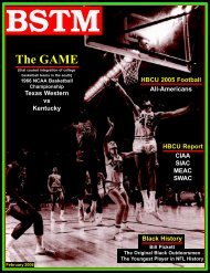 The GAME - Black Sports The Magazine