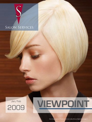 Jan-Feb 09   To place your order, call - Salon Services & Supplies