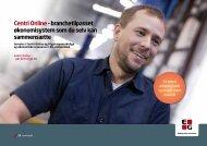 Centri Online – branchetilpasset økonomisystem som du ... - EG A/S