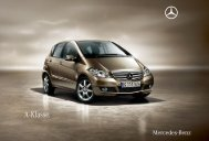 A - Klasse. - Mercedes-Benz Indonesia