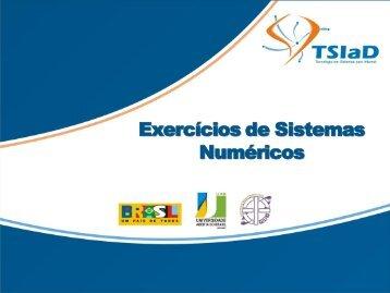 Exercícios de Sistemas Numéricos