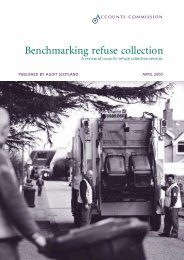 refuse collection services (PDF | 488 KB) - Audit Scotland