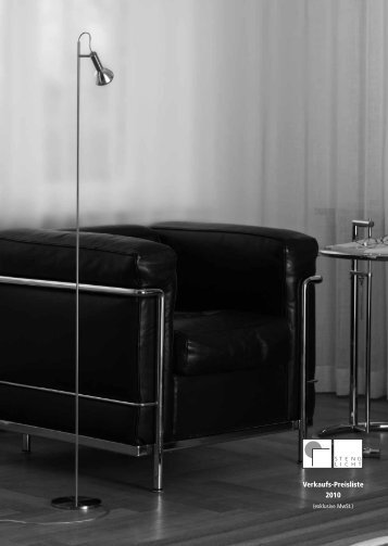 Verkaufs-Preisliste 2010 - Milano