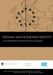 National and/or European Identity? - Friedrich-Ebert-Stiftung in ...