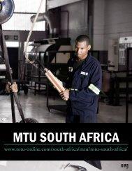 MTU SoUTh AfricA - The International Resource Journal