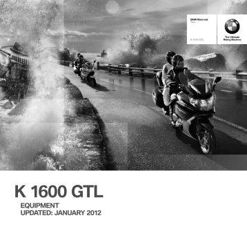 K 1600 GTL - BMW Motorrad