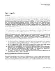 Rapport de gestion - Yellow Pages Group