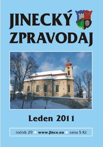 JZ leden 2011 - Jince