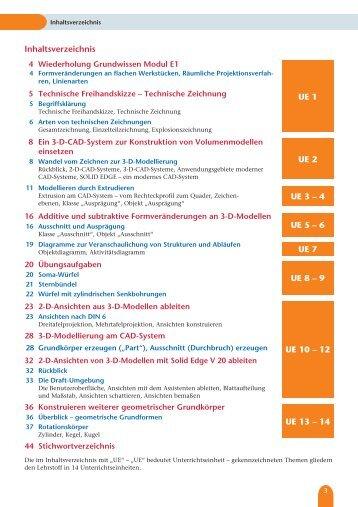 Inhaltsverzeichnis UE 1 UE 2 UE 5 – 6 UE 8 – 9 UE 10 – 12 UE 3 ...