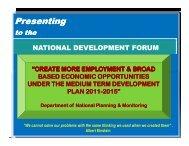 Juliana Kubak - MTDP - PNG Institute of National Affairs