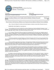 News Transcript - The Medium Extended Air Defense System